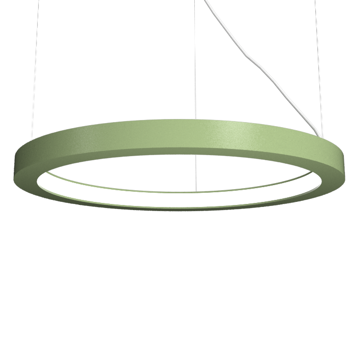 Pendant Lamp Accord Frame 1415 - Frame Line Accord Lighting | 30. Olive Green