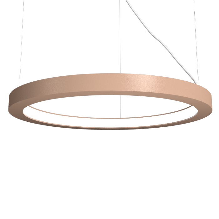Pendant Lamp Accord Frame 1415 - Frame Line Accord Lighting | 33. Bronze