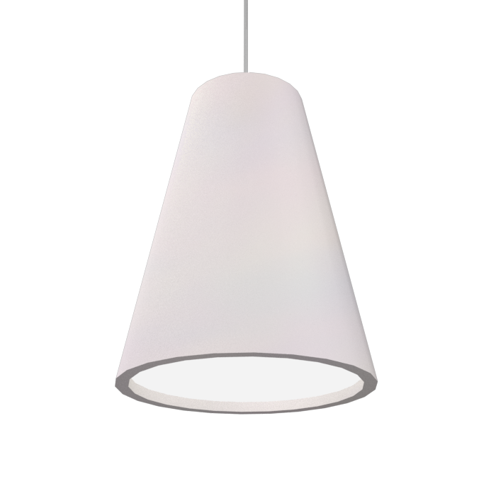 Pendant Lamp Accord Cônico 1130 - Cônica Line Accord Lighting | 25. Iredescent White