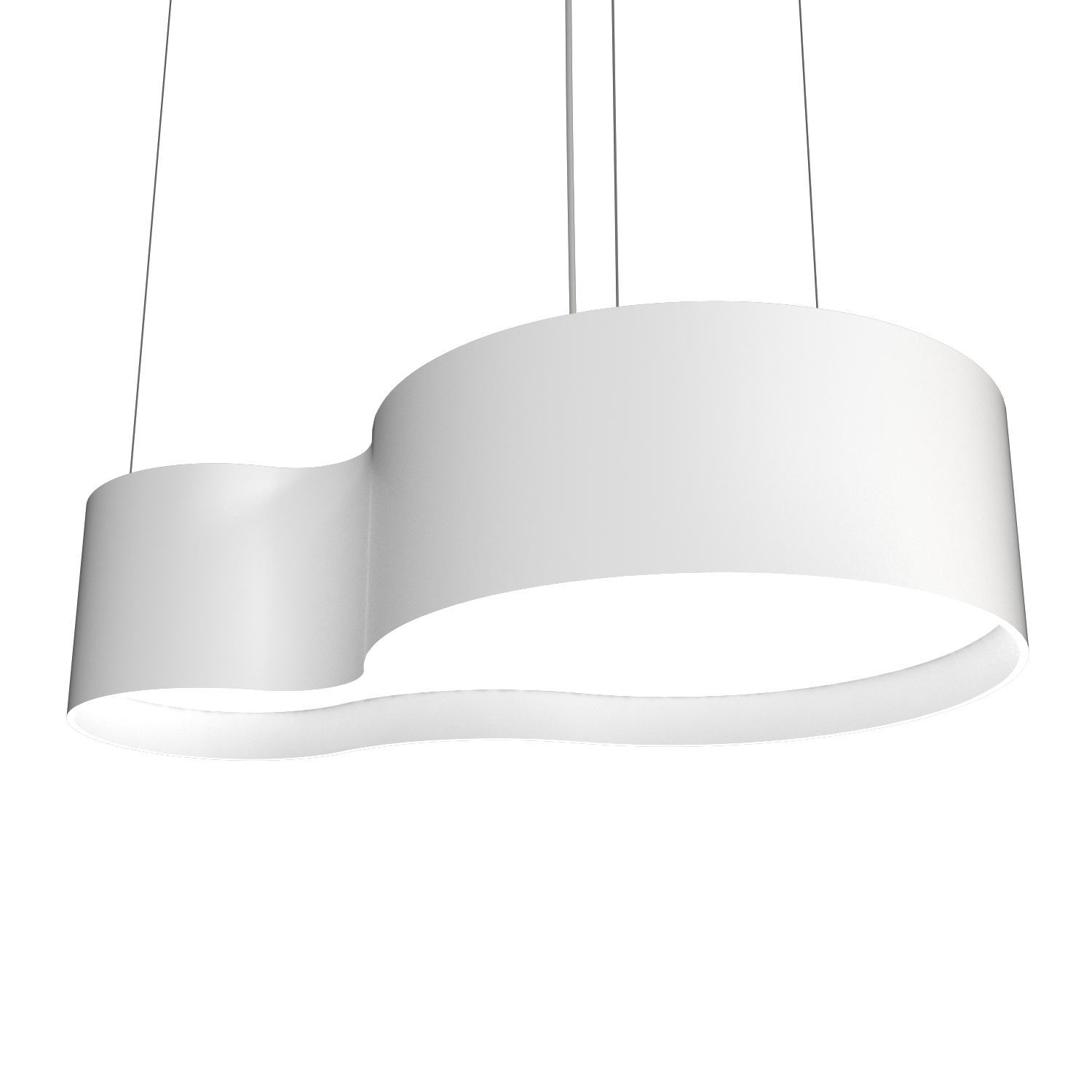 Pendant Lamp Accord Orgânico 285 - Orgânica Line Accord Lighting | 07. White