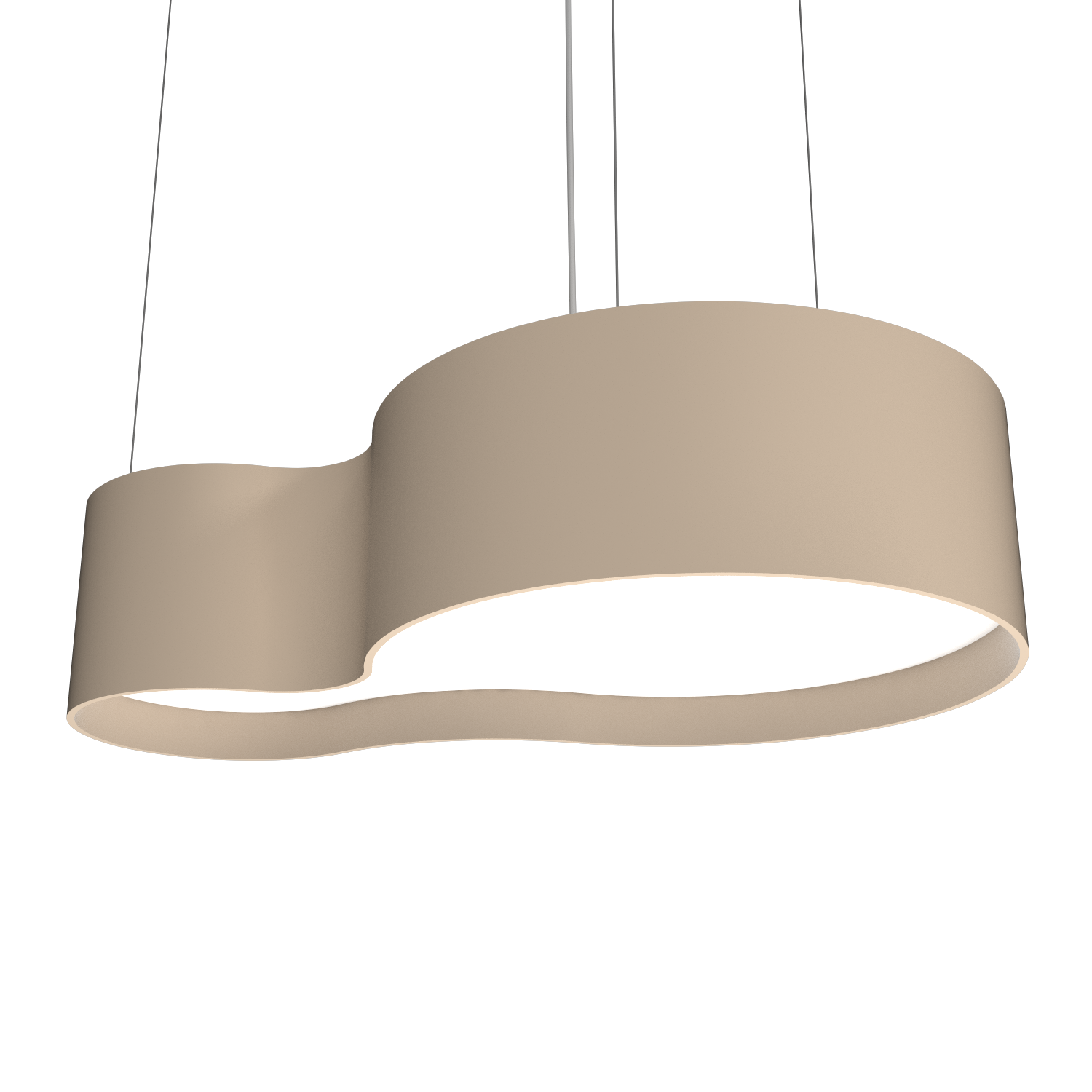 Pendant Lamp Accord Orgânico 285 - Orgânica Line Accord Lighting | 15. Cappuccino