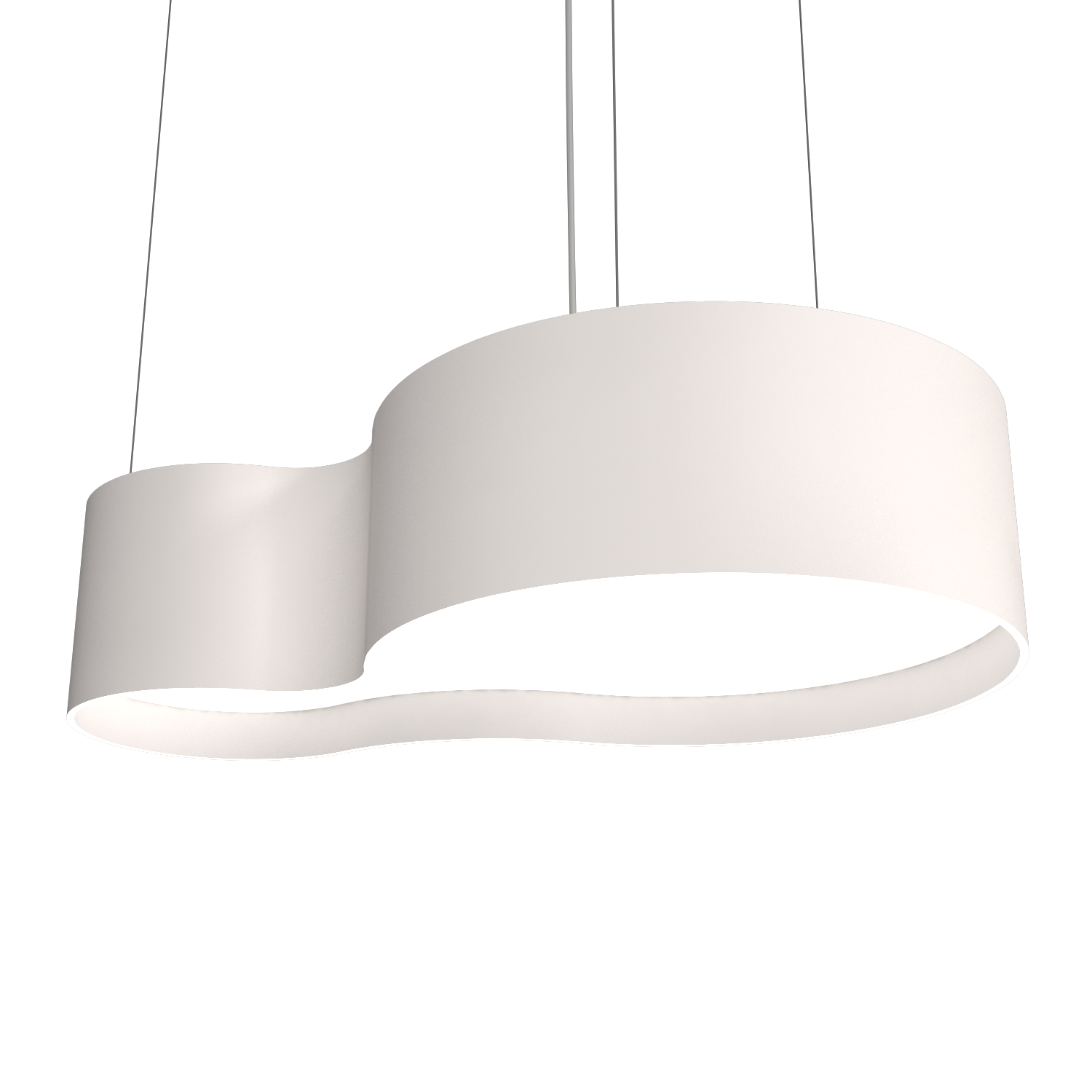 Pendant Lamp Accord Orgânico 285 - Orgânica Line Accord Lighting | 25. Iredescent White