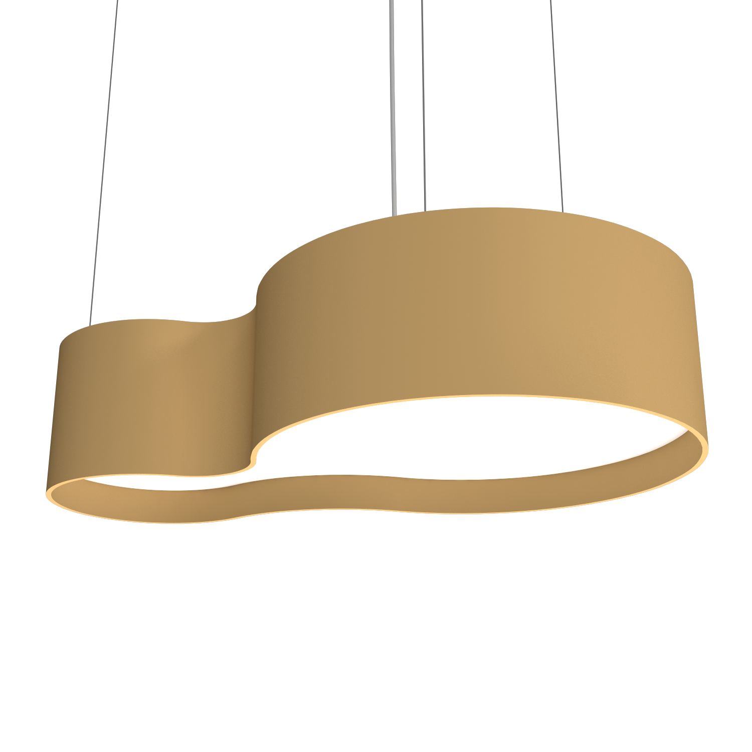Pendant Lamp Accord Orgânico 285 - Orgânica Line Accord Lighting | 27. Gold