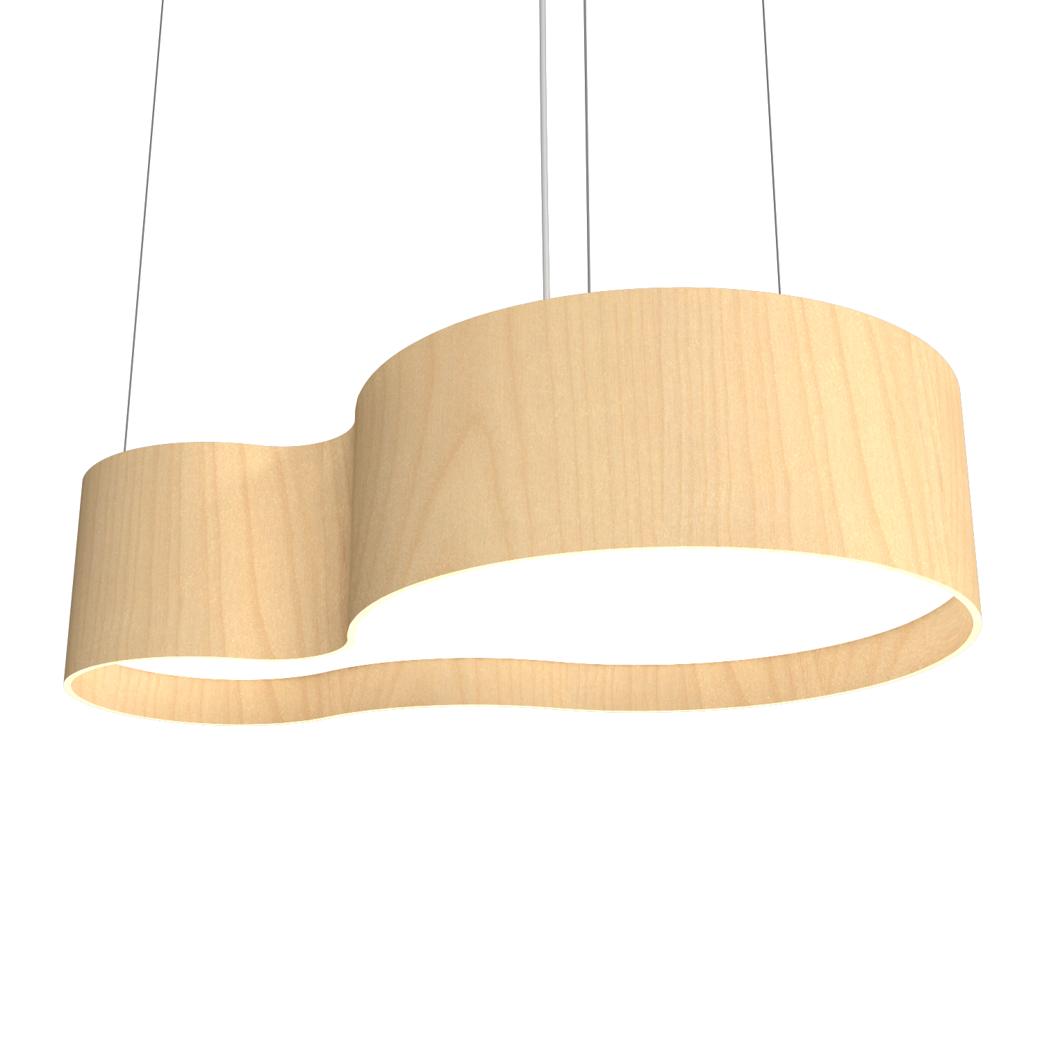 Pendant Lamp Accord Orgânico 285 - Orgânica Line Accord Lighting | 34. Maple
