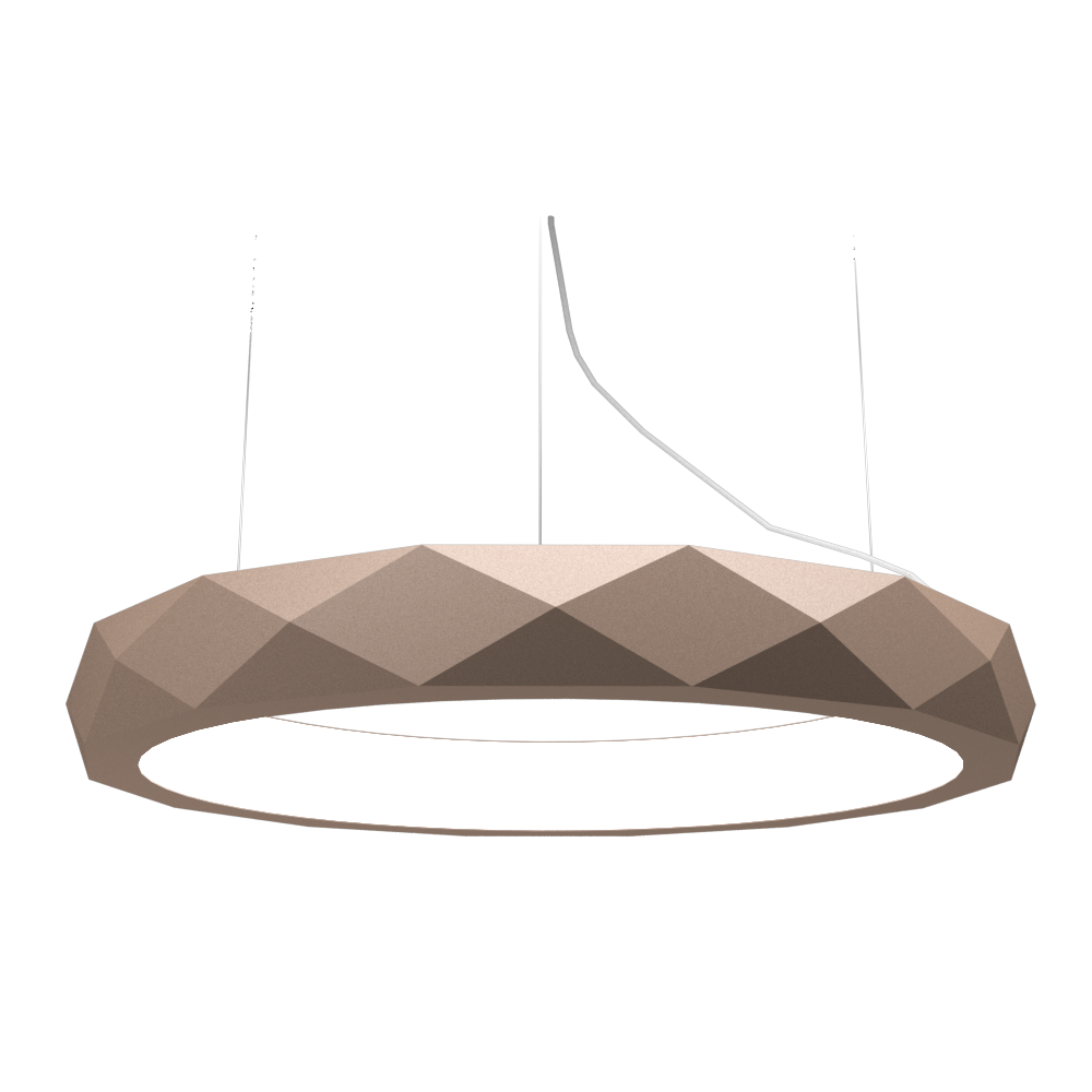 Pendant Lamp Accord Facetado 1357 - Facetada Line Accord Lighting | 33. Bronze