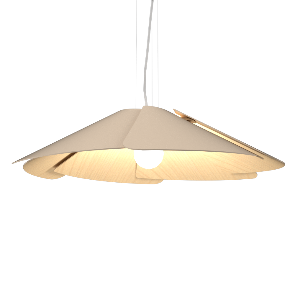 Pendant Lamp Accord Fuchsia 1365 - Fuchsia Line Accord Lighting | 15. Cappuccino
