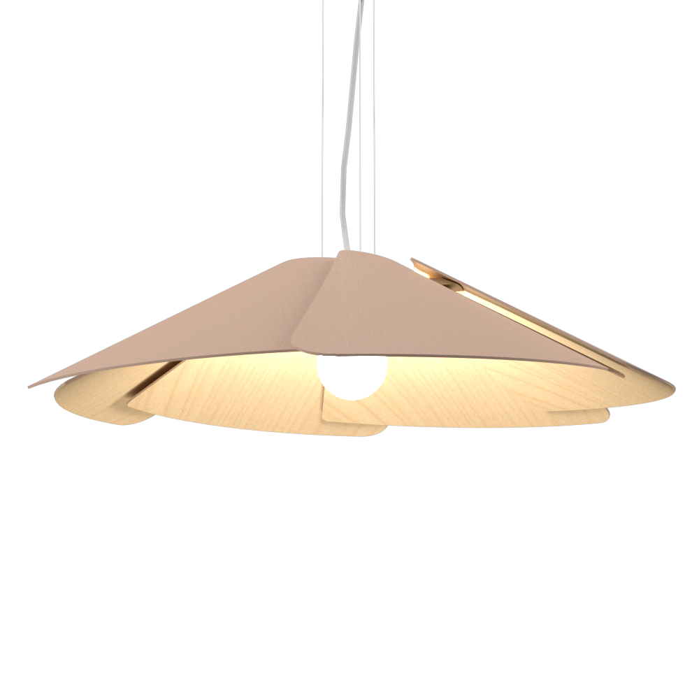 Pendant Lamp Accord Fuchsia 1365 - Fuchsia Line Accord Lighting | 33. Bronze