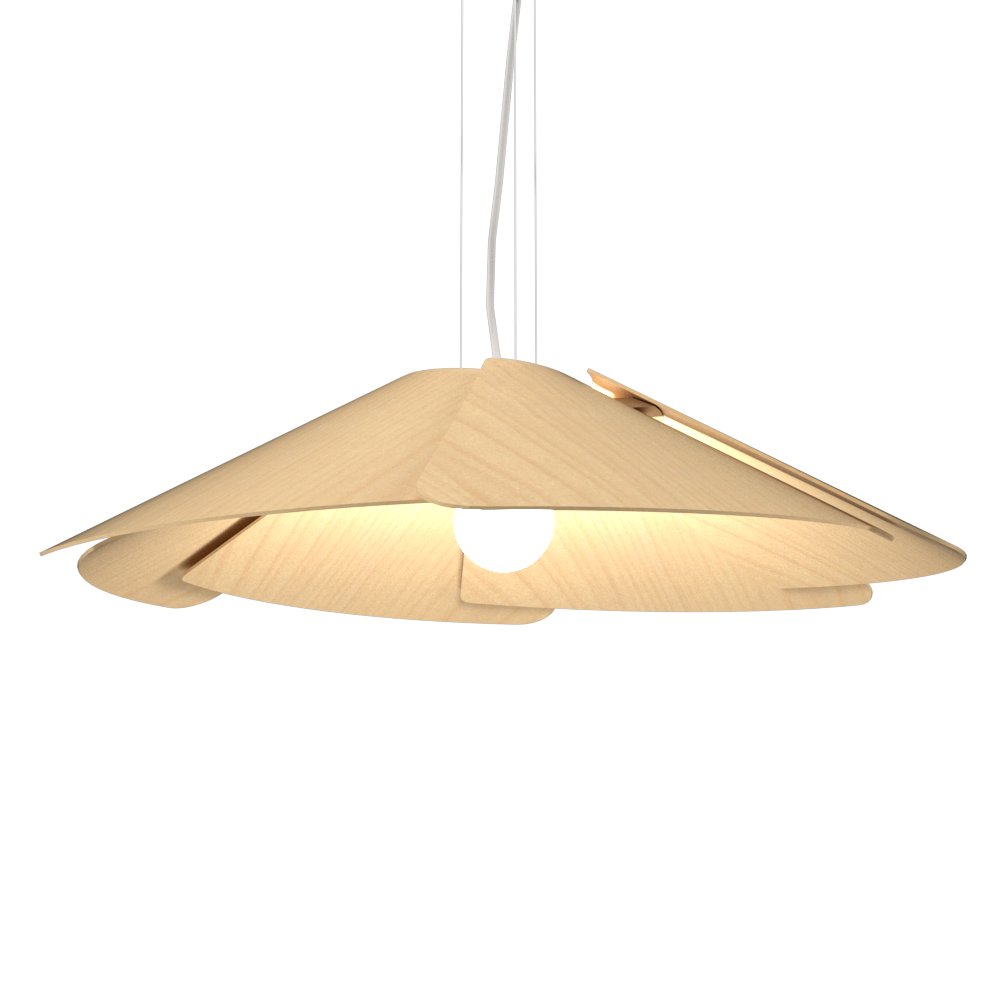 Pendant Lamp Accord Fuchsia 1365 - Fuchsia Line Accord Lighting | 34. Maple