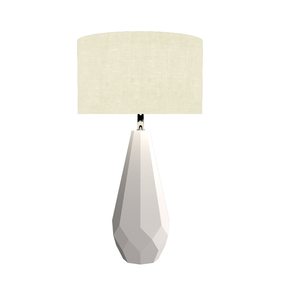 Table Lamp Accord Facetado 7051 - Facetada Line Accord Lighting | 25. Iredescent White