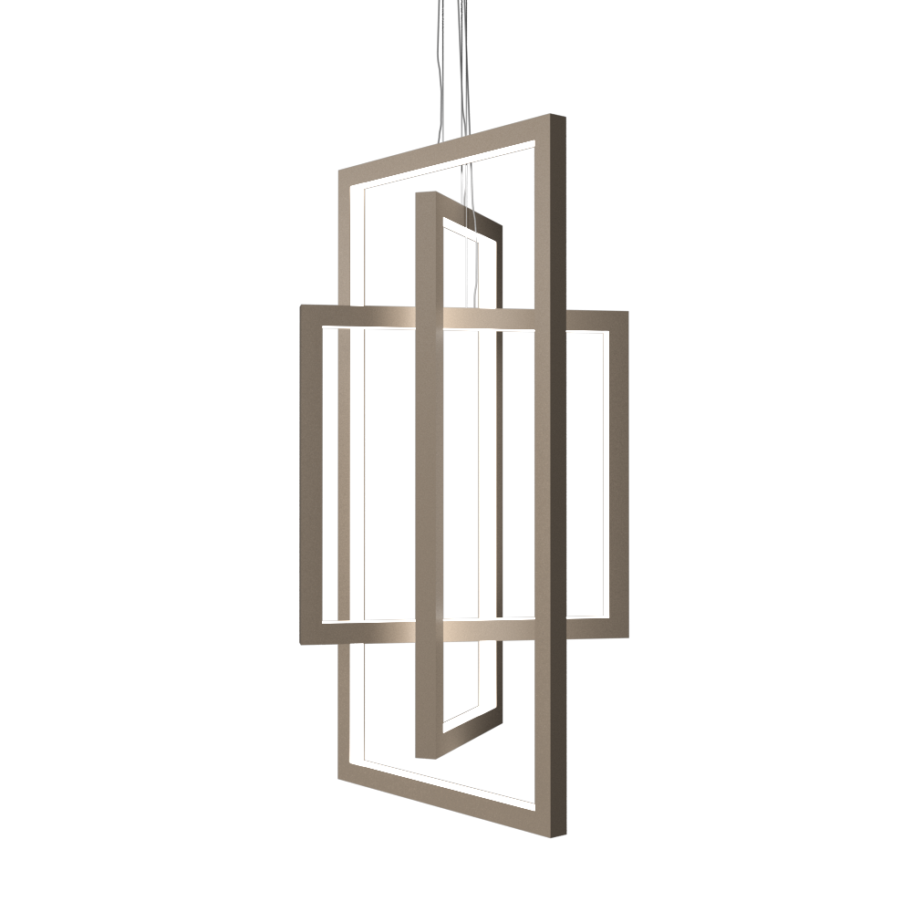 Pendant Lamp Accord Frame 1386 - Frame Line Accord Lighting | 15. Cappuccino