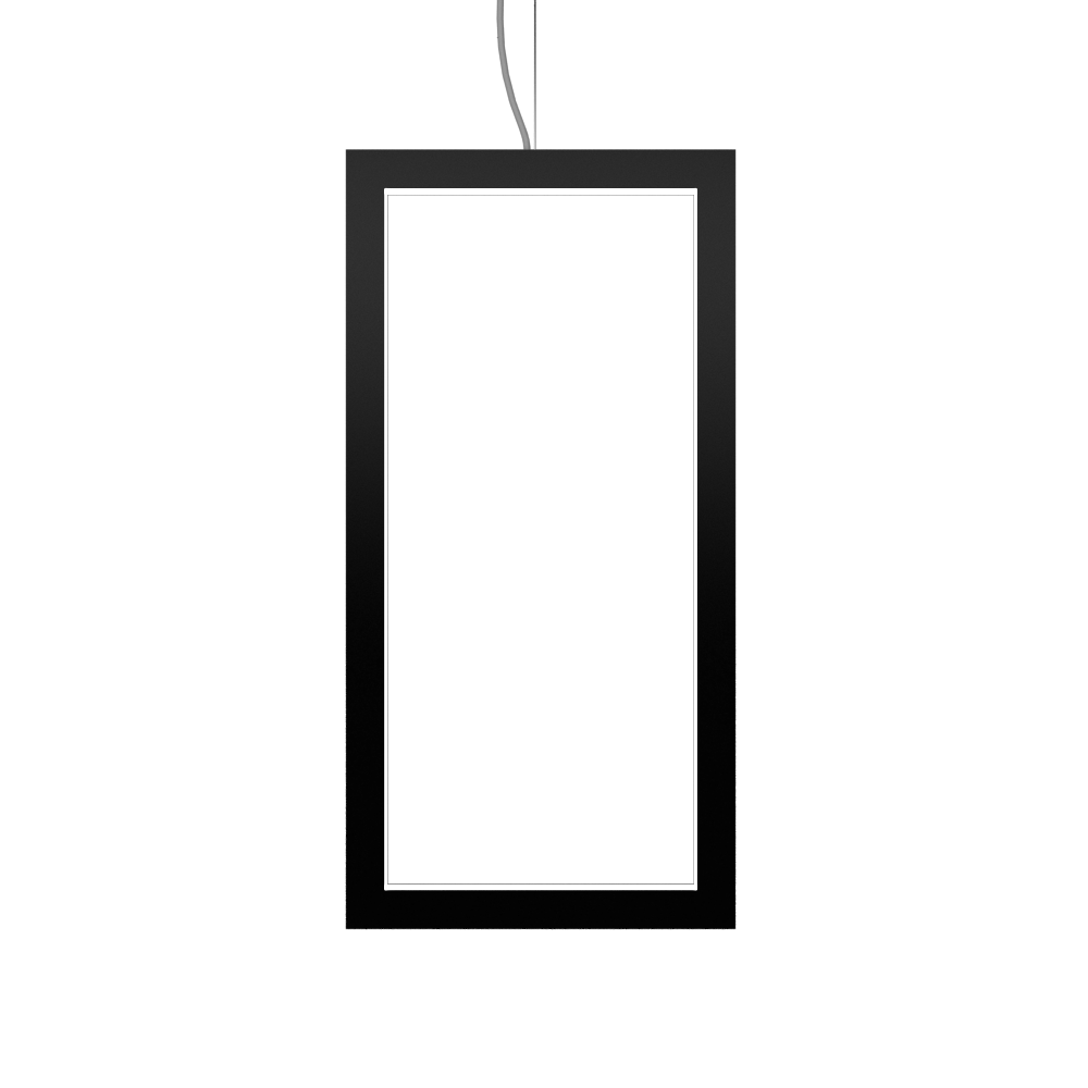 Pendant Lamp Accord Frame 1381 - Frame Line Accord Lighting | 02. Matte Black