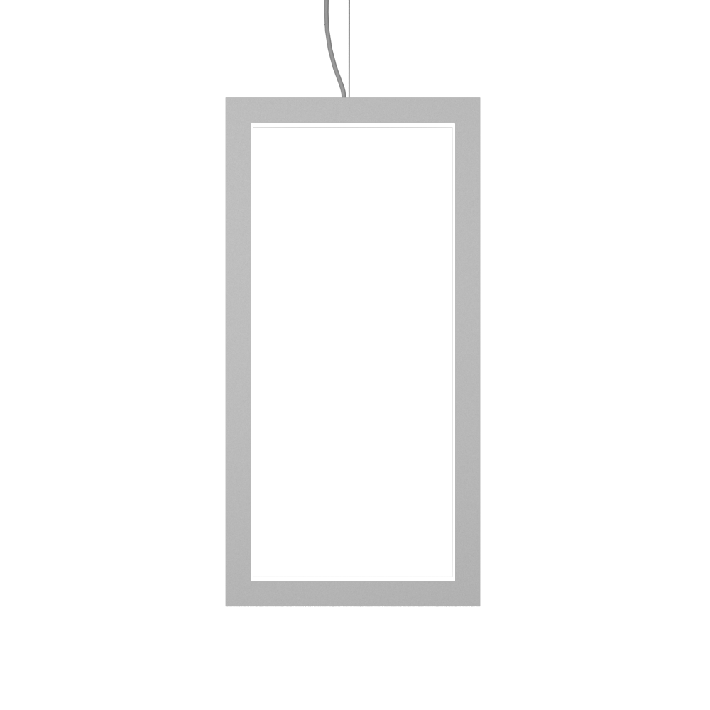Pendant Lamp Accord Frame 1381 - Frame Line Accord Lighting | 07. White
