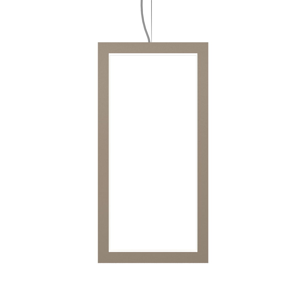 Pendant Lamp Accord Frame 1381 - Frame Line Accord Lighting | 15. Cappuccino