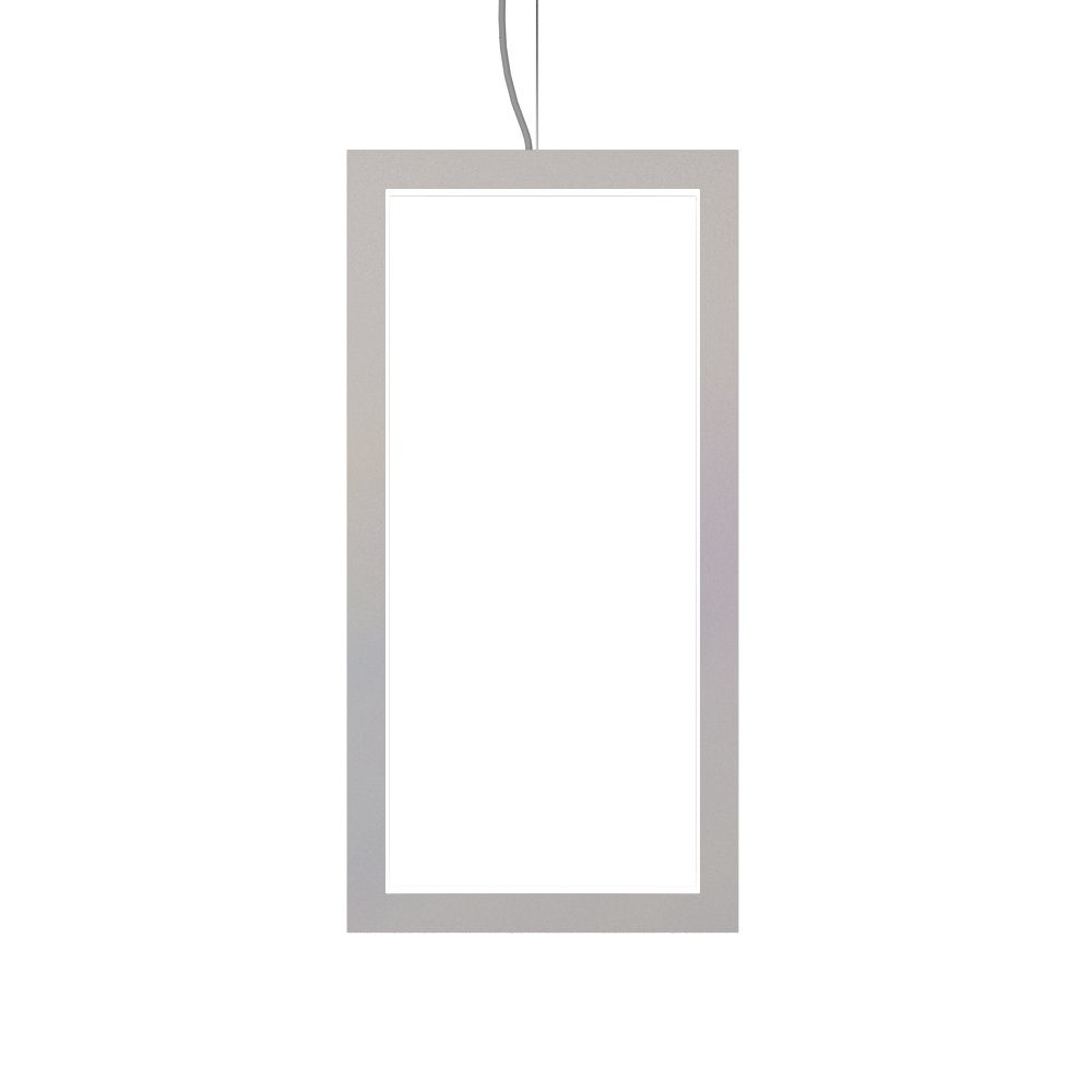 Pendant Lamp Accord Frame 1381 - Frame Line Accord Lighting | 25. Iredescent White