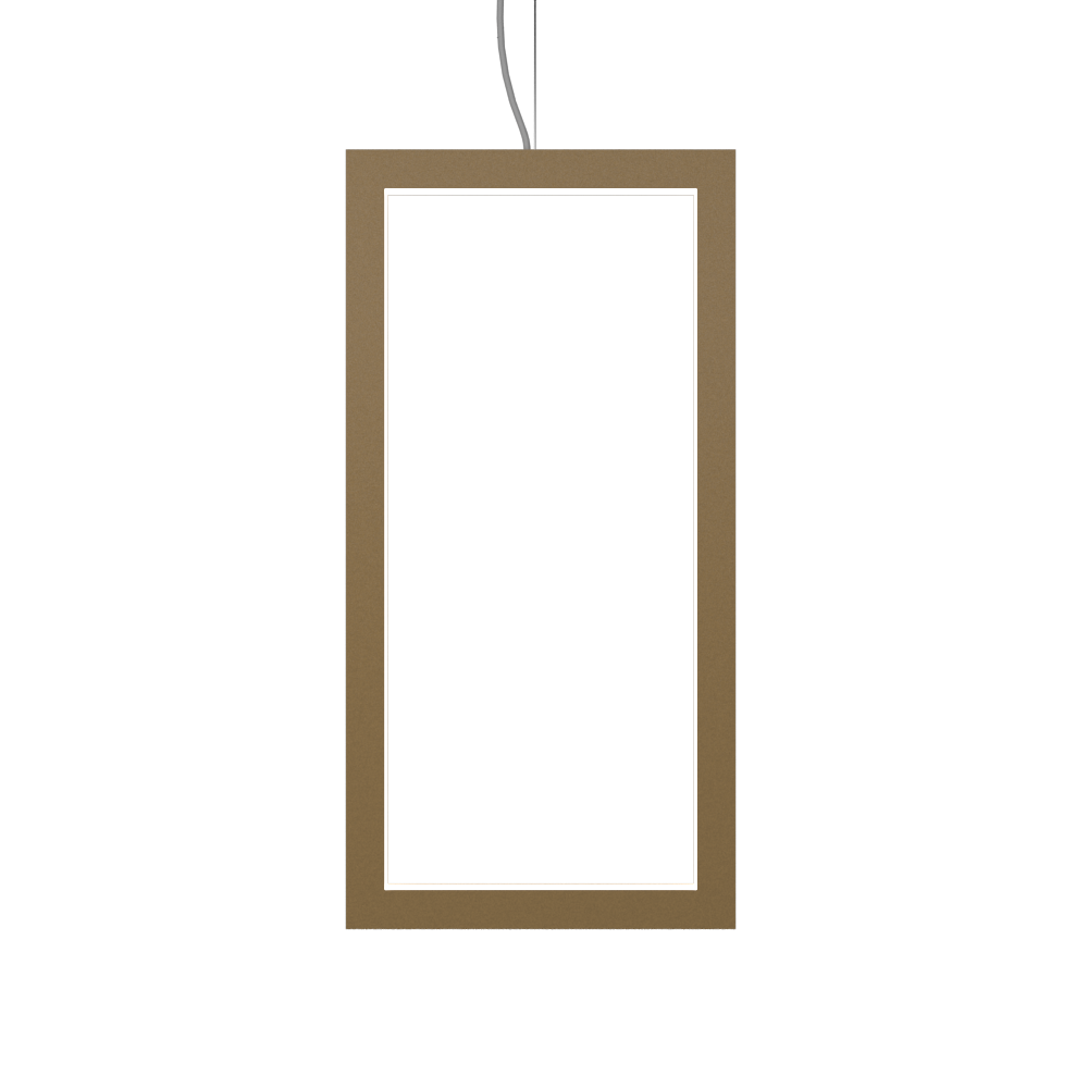 Pendant Lamp Accord Frame 1381 - Frame Line Accord Lighting | 27. Gold