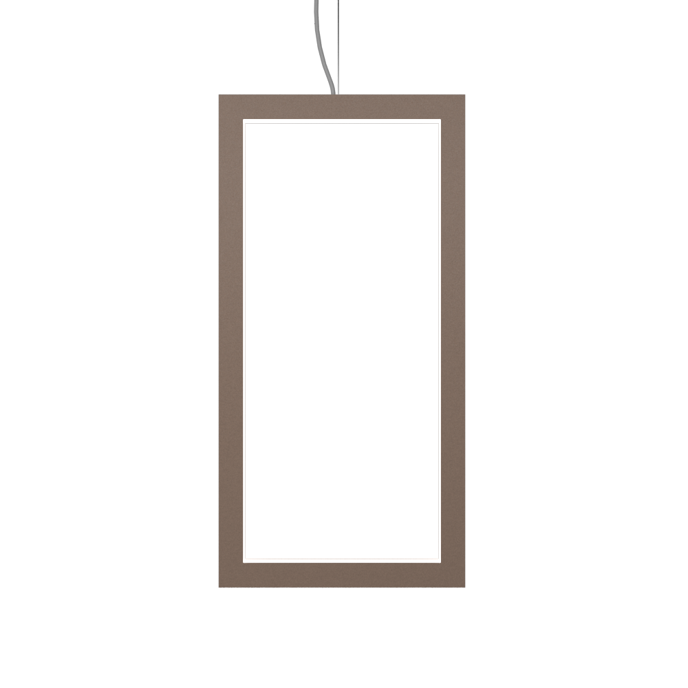 Pendant Lamp Accord Frame 1381 - Frame Line Accord Lighting | 33. Bronze