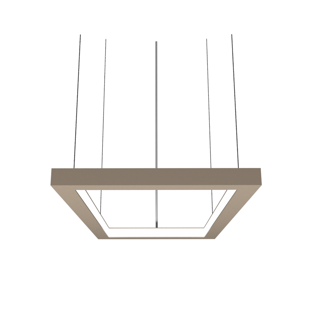 Pendant Lamp Accord Frame 1376 - Frame Line Accord Lighting | 15. Cappuccino