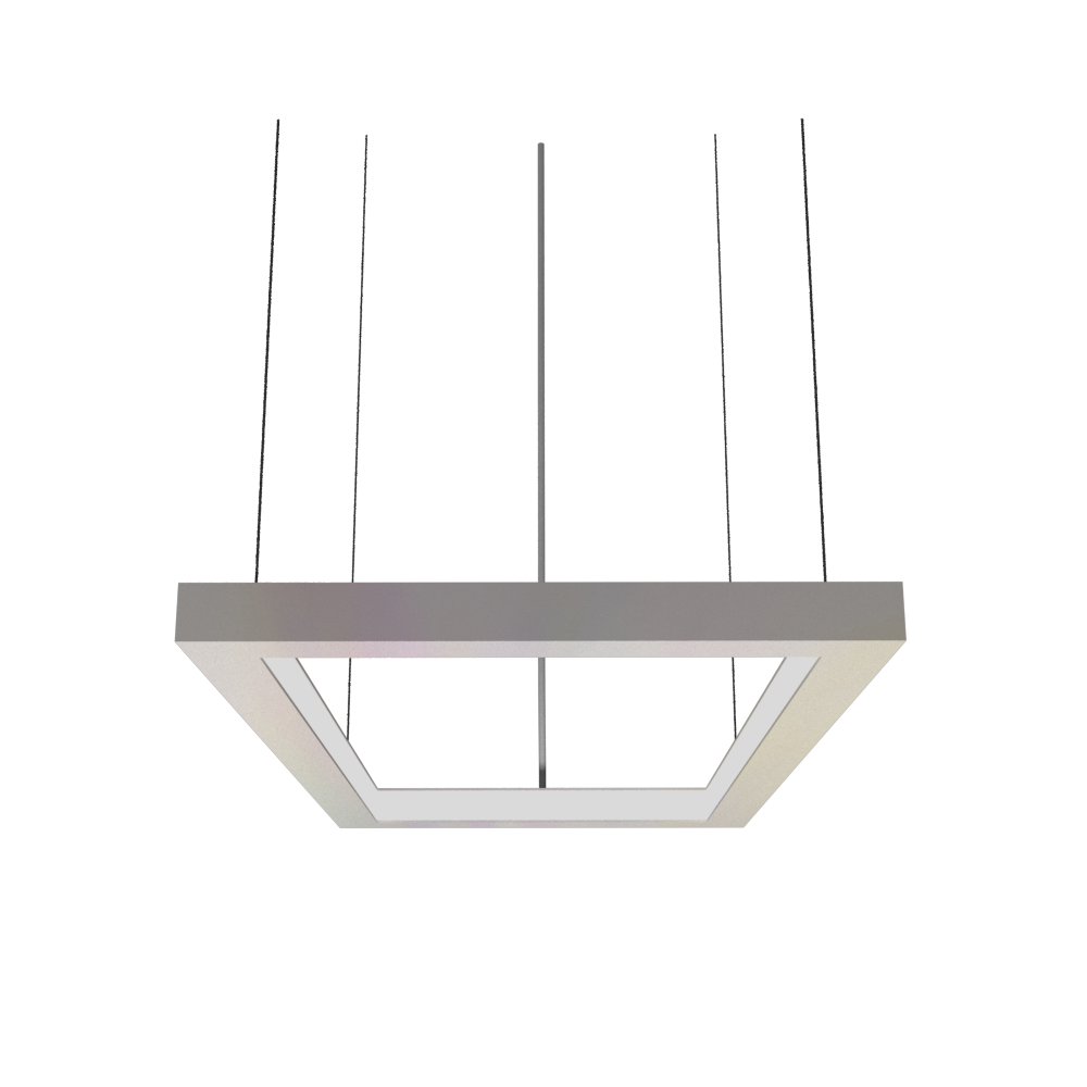 Pendant Lamp Accord Frame 1376 - Frame Line Accord Lighting | 25. Iredescent White