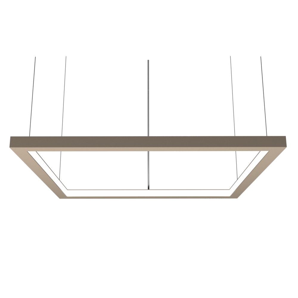 Pendant Lamp Accord Frame 1366 - Frame Line Accord Lighting | 15. Cappuccino