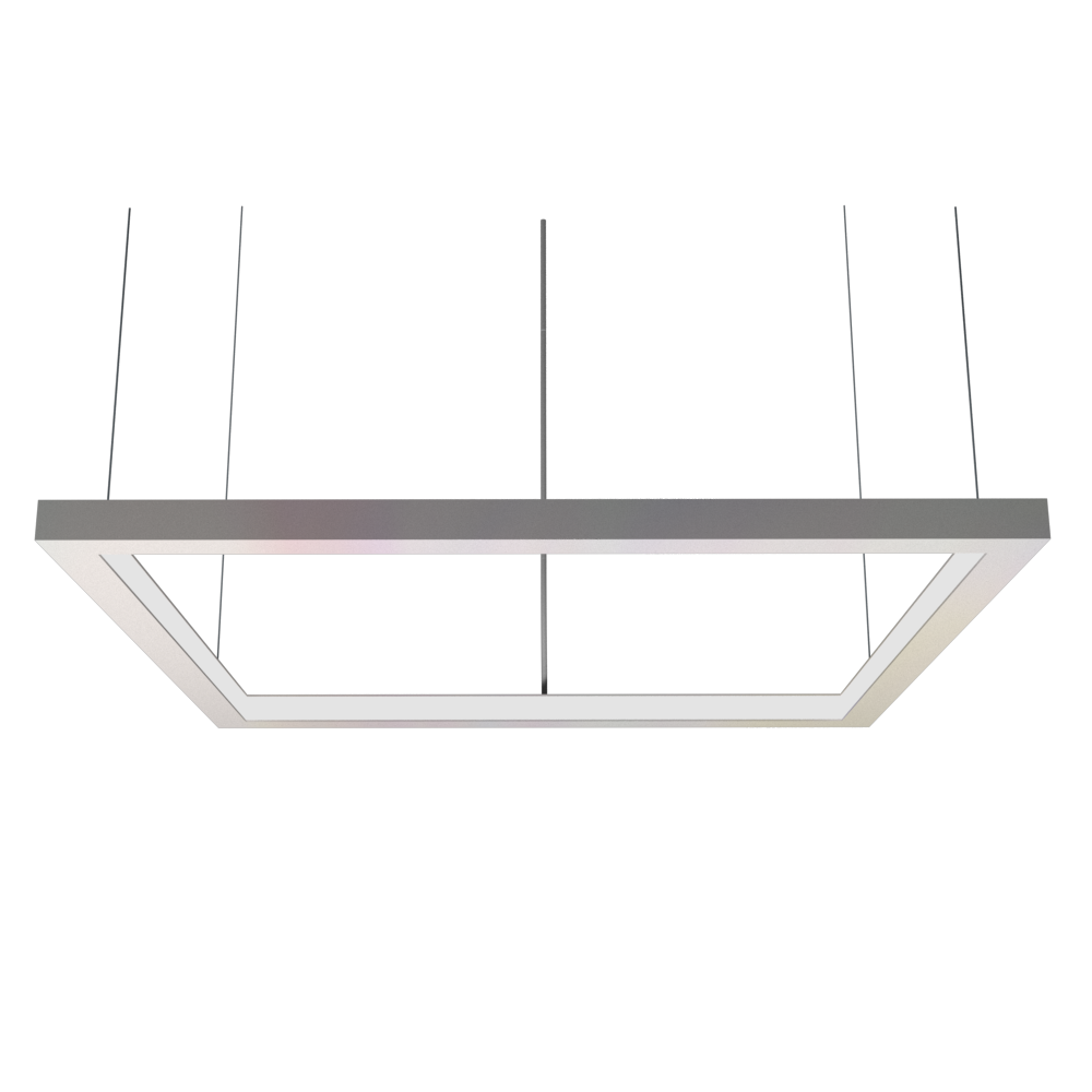 Pendant Lamp Accord Frame 1366 - Frame Line Accord Lighting | 25. Iredescent White