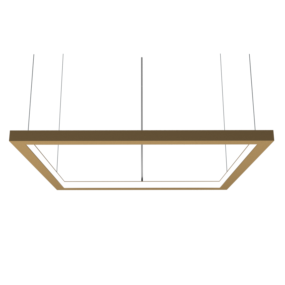 Pendant Lamp Accord Frame 1366 - Frame Line Accord Lighting | 27. Gold