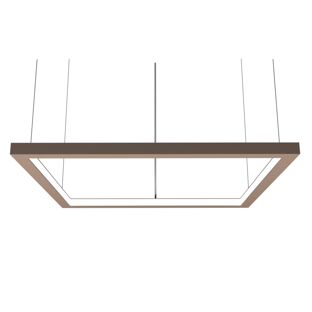Pendant Lamp Accord Frame 1366 - Frame Line Accord Lighting | 33. Bronze