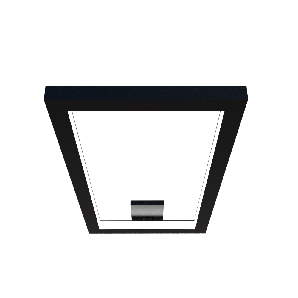 Ceiling Lamp Accord Frame 5076 - Frame Line Accord Lighting | 02. Matte Black
