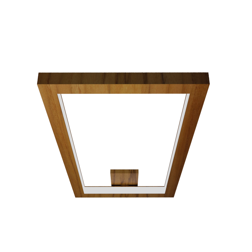 Ceiling Lamp Accord Frame 5076 - Frame Line Accord Lighting | 12. Teak