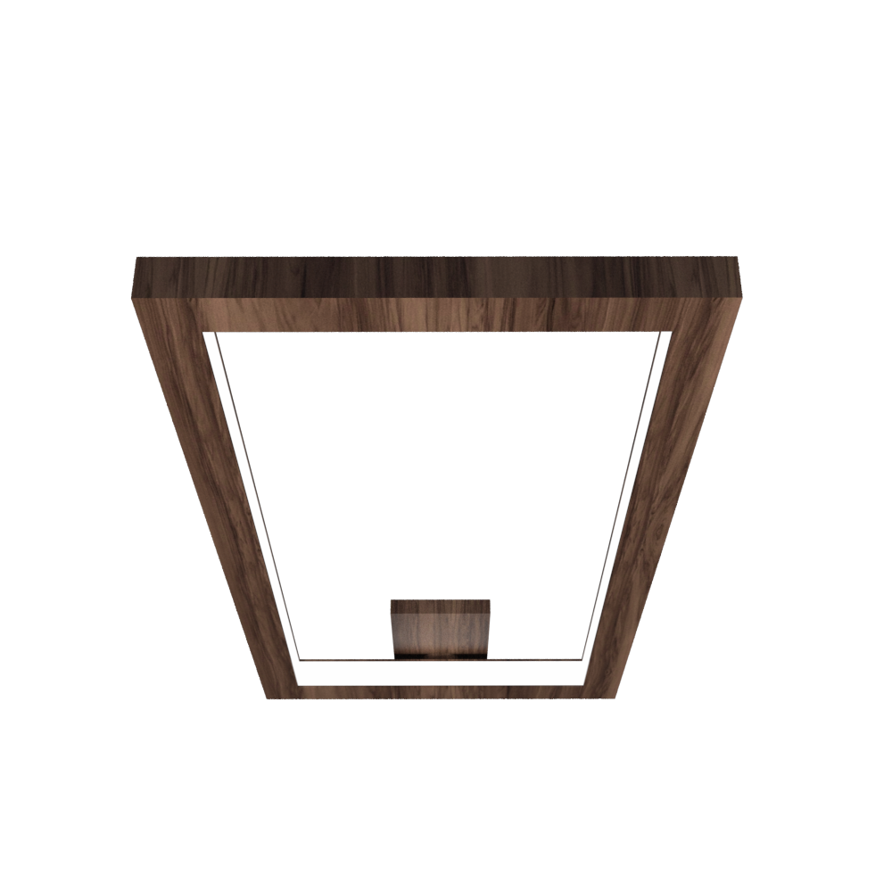Ceiling Lamp Accord Frame 5076 - Frame Line Accord Lighting | 18. American Walnut