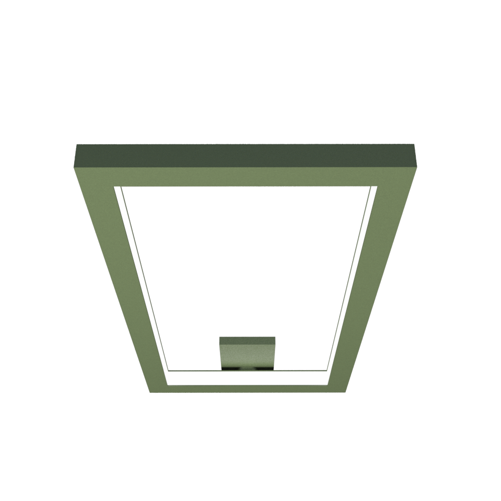 Ceiling Lamp Accord Frame 5076 - Frame Line Accord Lighting | 30. Olive Green