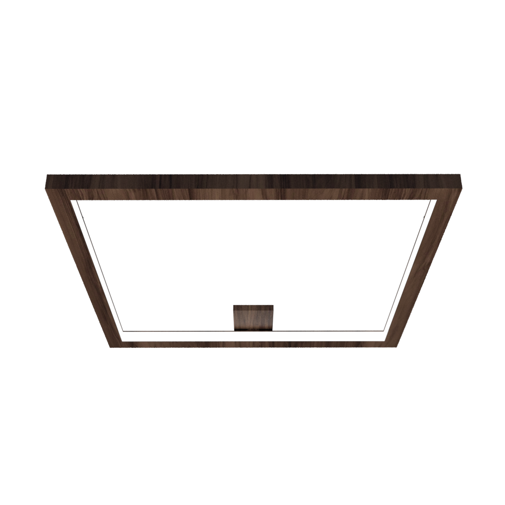 Ceiling Lamp Accord Frame 5071 - Frame Line Accord Lighting | 18. American Walnut