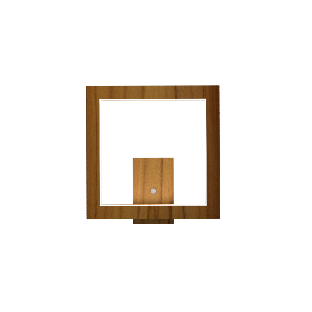 Wall Lamp Accord Frame 4116 - Frame Line Accord Lighting | 12. Teak