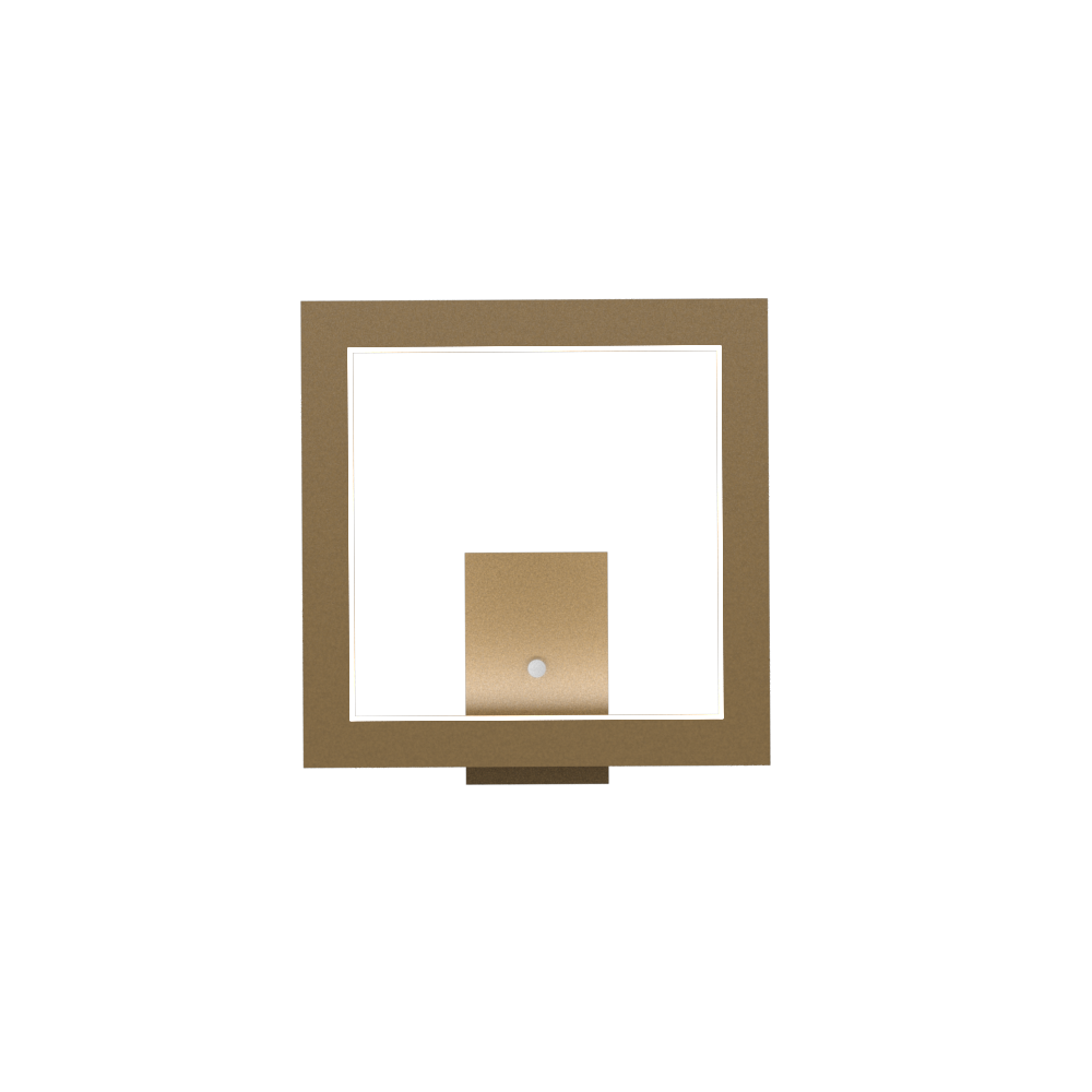 Wall Lamp Accord Frame 4116 - Frame Line Accord Lighting | 27. Gold