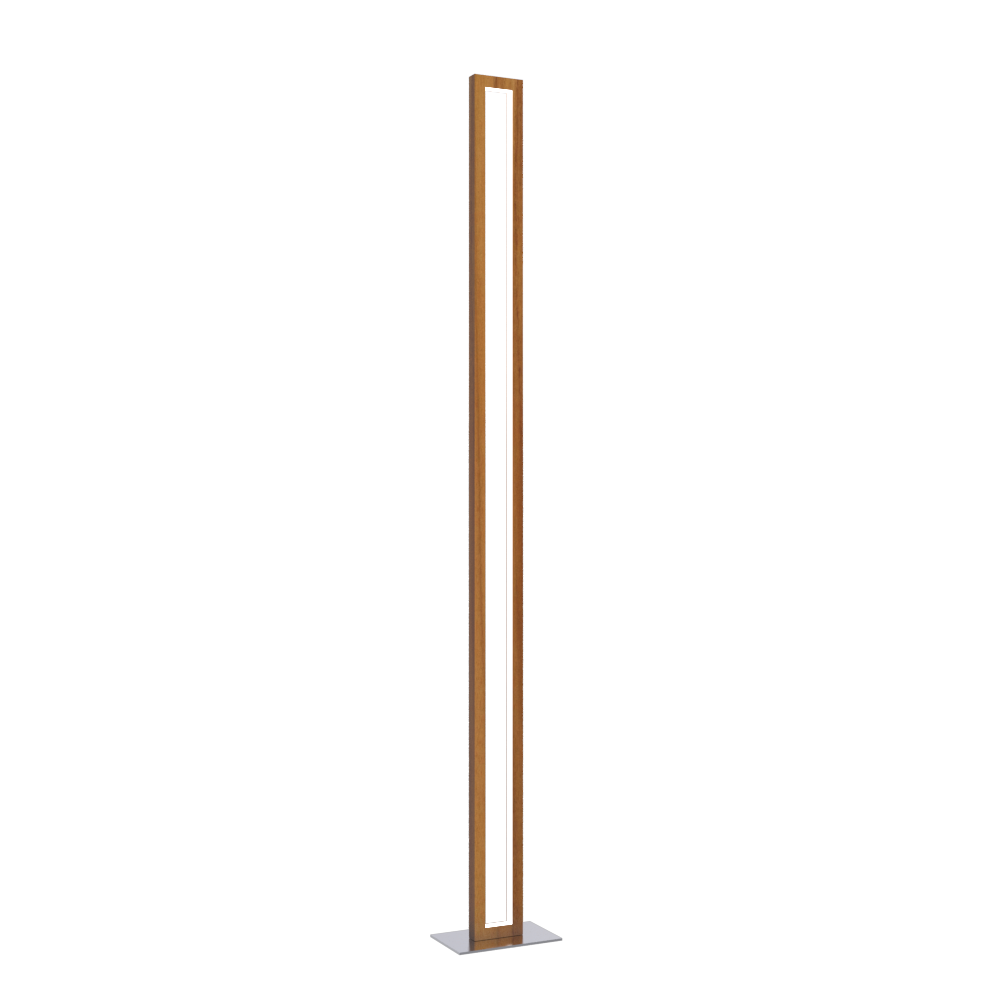 Floor Lamp Accord Frame 3123 - Frame Line Accord Lighting | 12. Teak