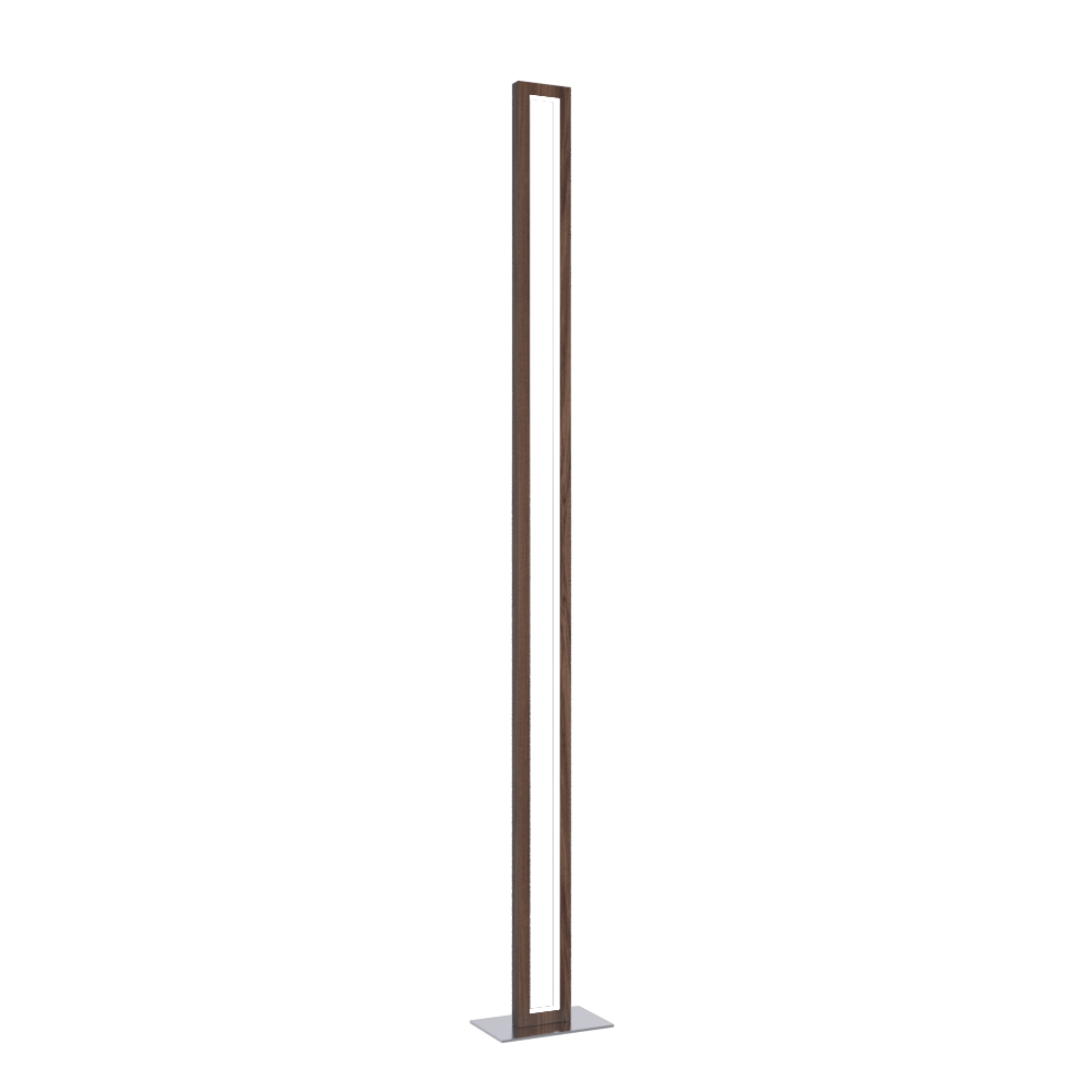 Floor Lamp Accord Frame 3123 - Frame Line Accord Lighting | 18. American Walnut