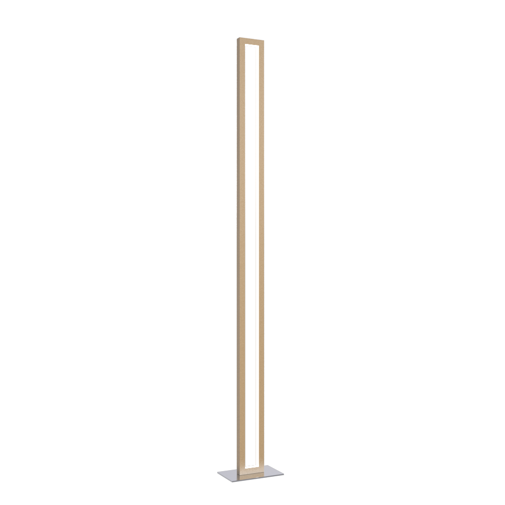Floor Lamp Accord Frame 3123 - Frame Line Accord Lighting | 27. Gold