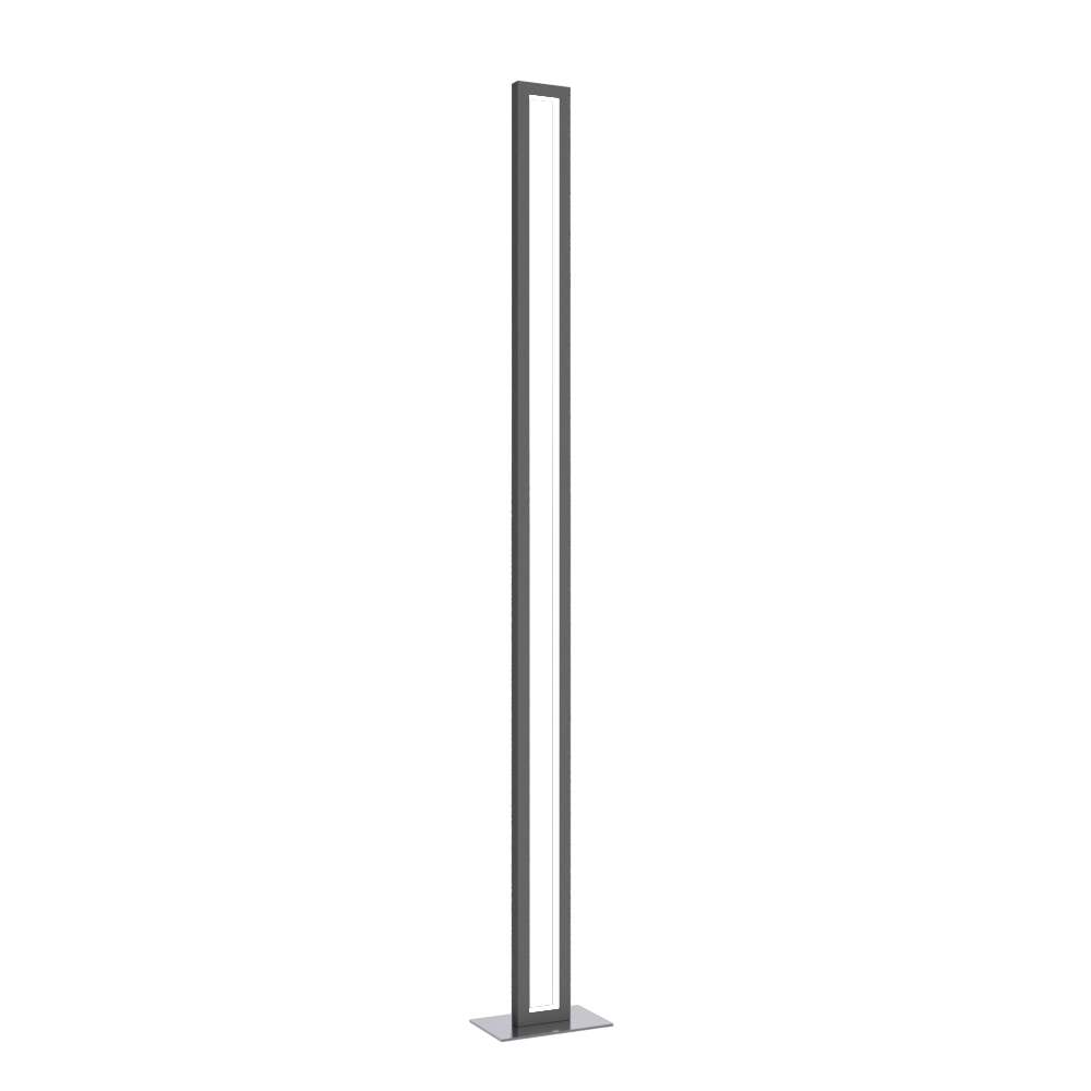 Floor Lamp Accord Frame 3123 - Frame Line Accord Lighting | Lead Grey