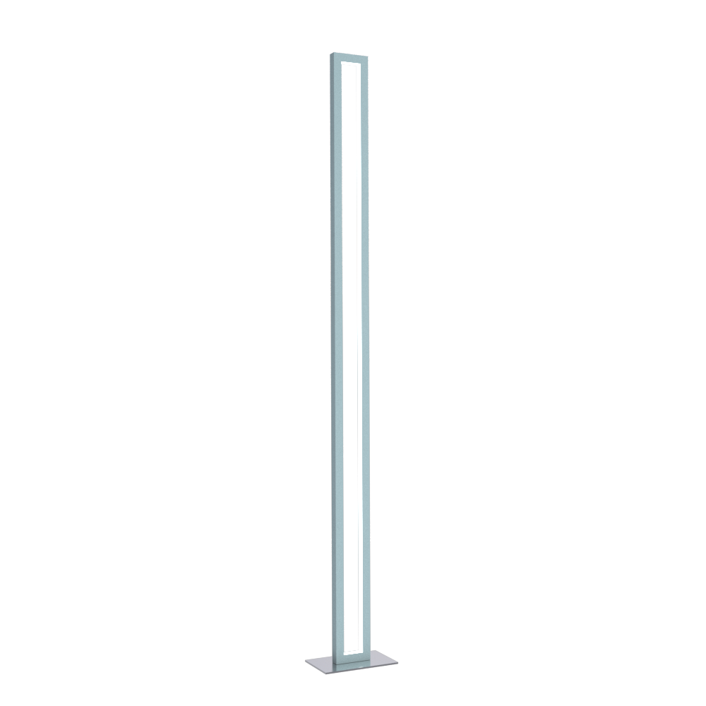 Floor Lamp Accord Frame 3123 - Frame Line Accord Lighting | Satin Blue