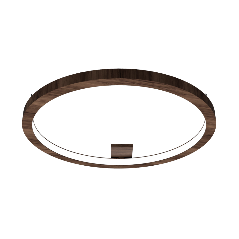 Ceiling Lamp Accord Frame 5066 - Frame Line Accord Lighting | 18. American Walnut