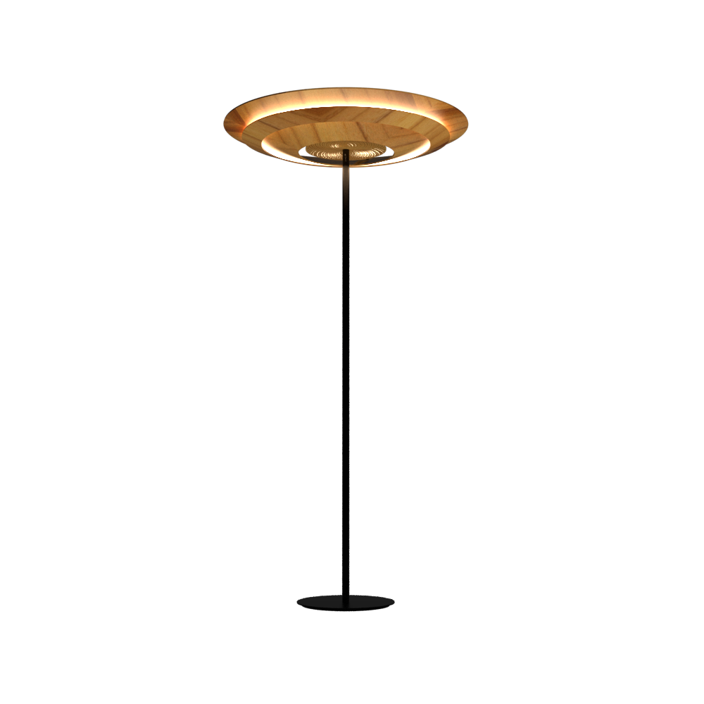 Floor Lamp Accord Curi 3124 - Curi Line Accord Lighting | 12. Teak
