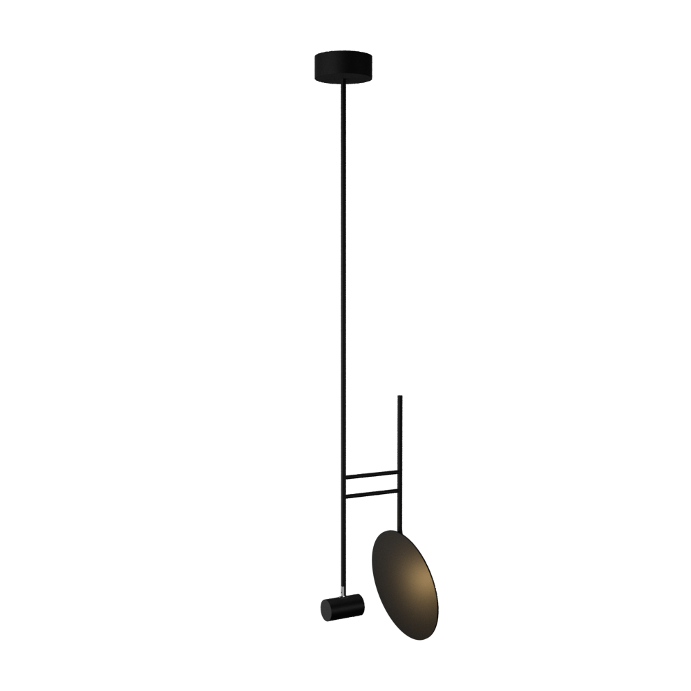 Pendant Lamp Accord Dot 1418 - Dot Line Accord Lighting | 02. Matte Black