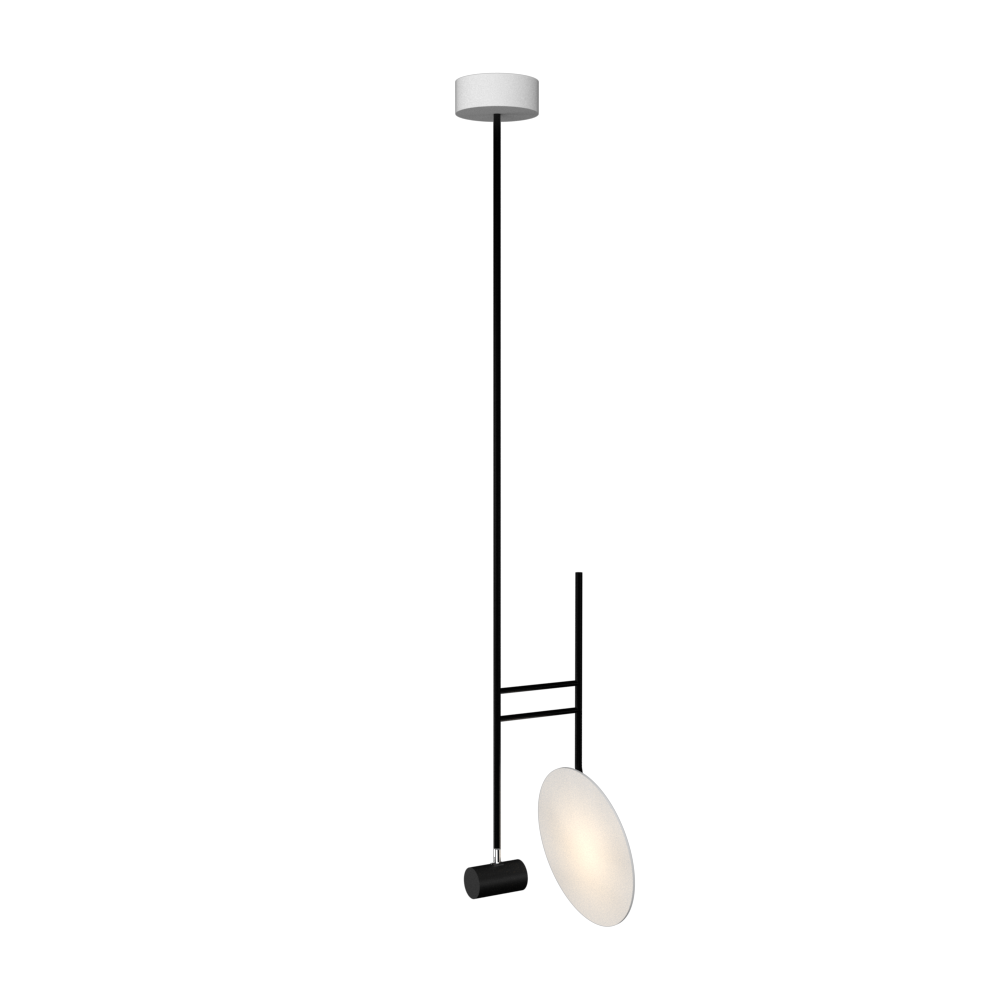 Pendant Lamp Accord Dot 1418 - Dot Line Accord Lighting | 07. White