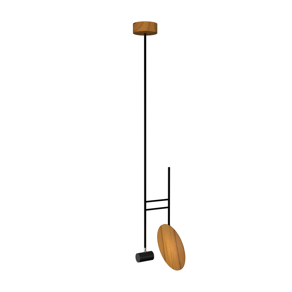 Pendant Lamp Accord Dot 1418 - Dot Line Accord Lighting | 12. Teak