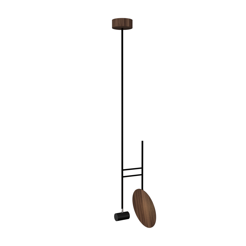 Pendant Lamp Accord Dot 1418 - Dot Line Accord Lighting | 18. American Walnut