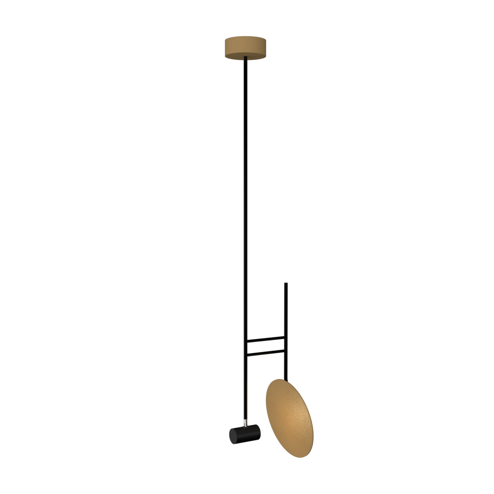 Pendant Lamp Accord Dot 1418 - Dot Line Accord Lighting | 27. Gold