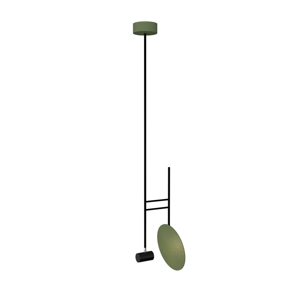 Pendant Lamp Accord Dot 1418 - Dot Line Accord Lighting | 30. Olive Green