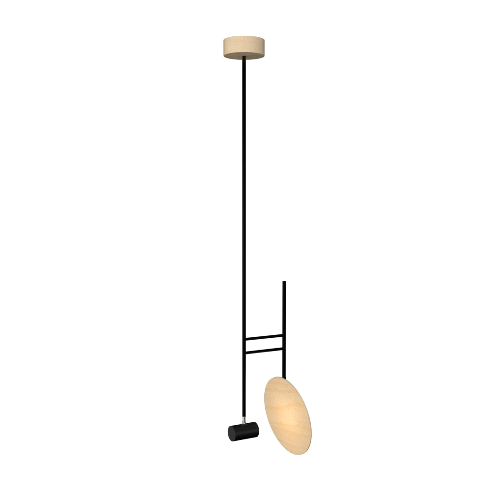 Pendant Lamp Accord Dot 1418 - Dot Line Accord Lighting | 34. Maple