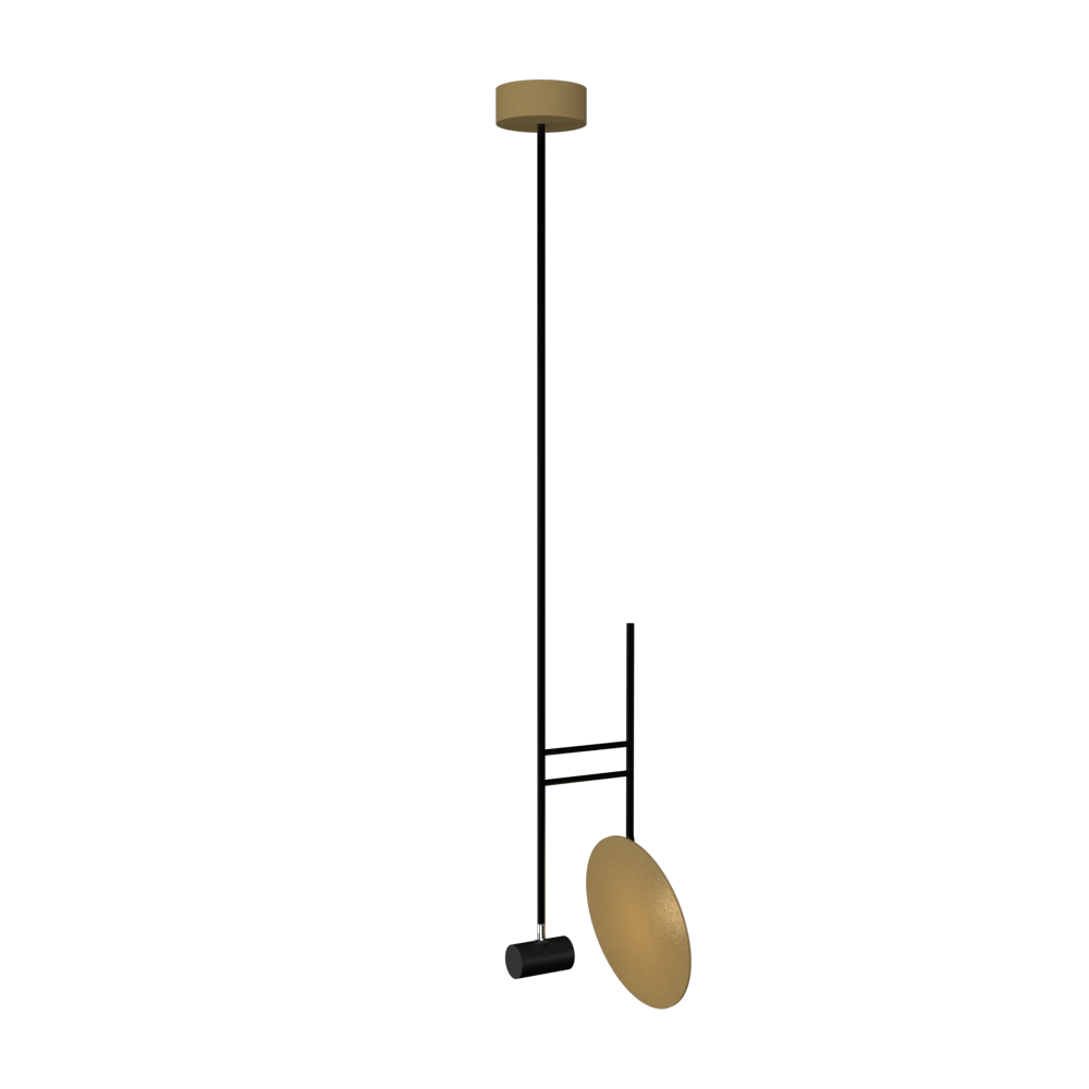 Pendant Lamp Accord Dot 1418 - Dot Line Accord Lighting | Pale Gold