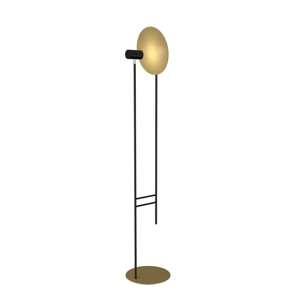 Floor Lamp Accord Dot 3126 - Dot Line Accord Lighting | Pale Gold