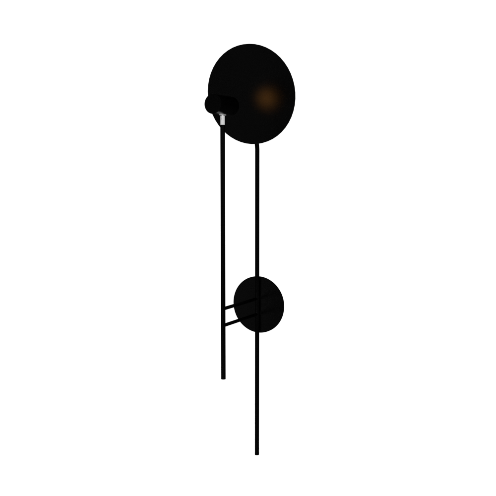 Wall Lamp Accord Dot 4127 - Dot Line Accord Lighting | 02. Matte Black